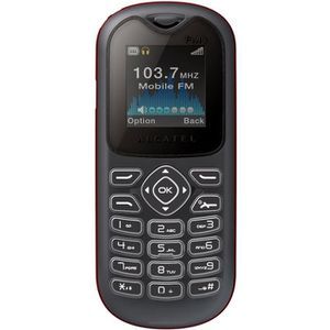 Téléphone GSM ALCATEL ONE TOUCH 208 NOIR