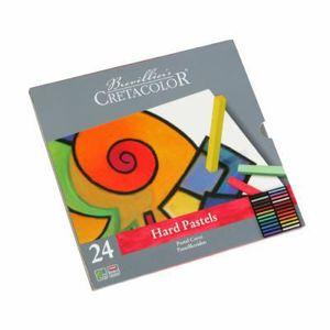 PASTELS - CRAIE D'ART Coffret en métal de 24 pastels.