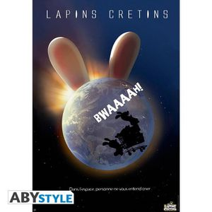 AFFICHE - POSTER ABYSTYLE Poster Lapins crétins