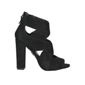 Mcglcas02139i Noir Talons Guess Femme Chaussures Suède À L54RAj