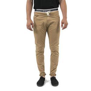 PANTALON pantalons pull in dening epic beige