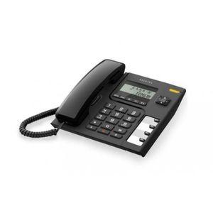 Téléphone fixe Téléphone fixe Alcatel T56 Noir Filaire