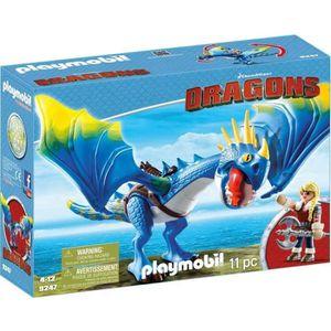 FIGURINE - PERSONNAGE PLAYMOBIL 9247 Dragons Astrid et Tempête Editions