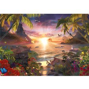 PUZZLE Puzzle 18000 pièces : Coucher de soleil céleste