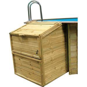 POMPE - FILTRATION  SUNBAY Coffre de filtration en bois pin sylvestre
