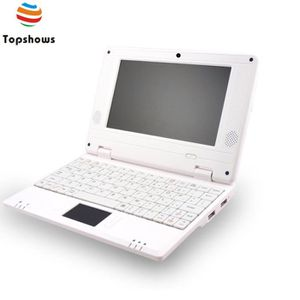 NETBOOK Topshows N780  7 pouces Netbook Android 4.4 Blanc