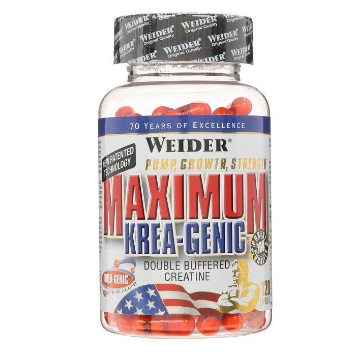WEIDER Sachet de Maximum Krea-Genic 120 Gélules