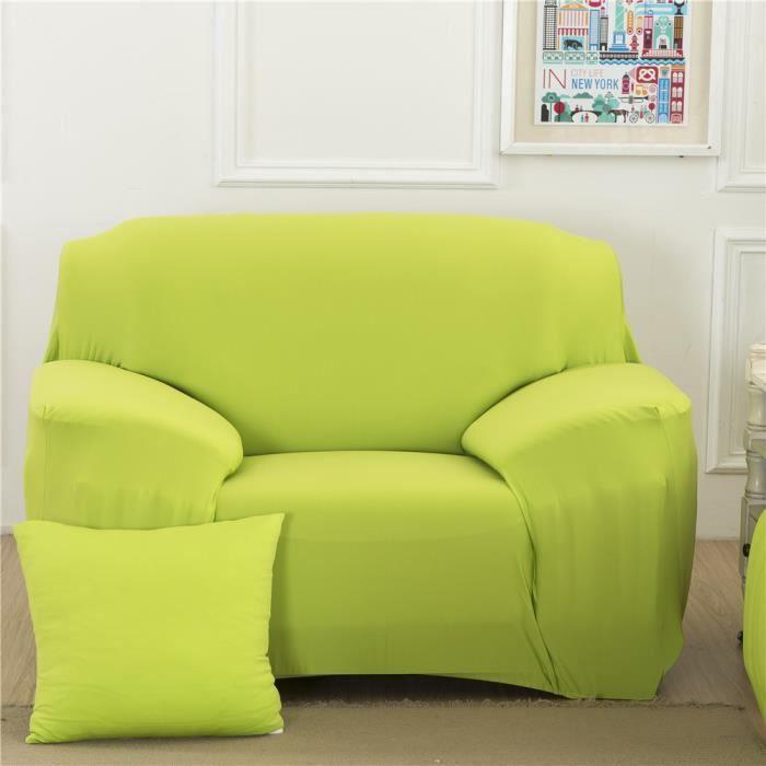 HOUSSE DE CANAPE L'étirement simple de couverture de divan de canap