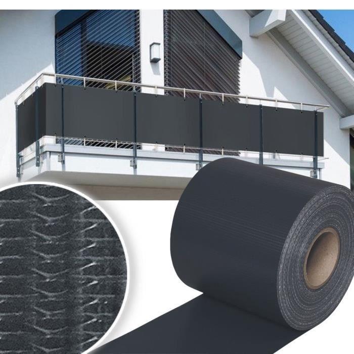 35m Protection d\'écran Protection d\'écran Clôture Panneau de jardin Clôture  feuille Balcon PVC