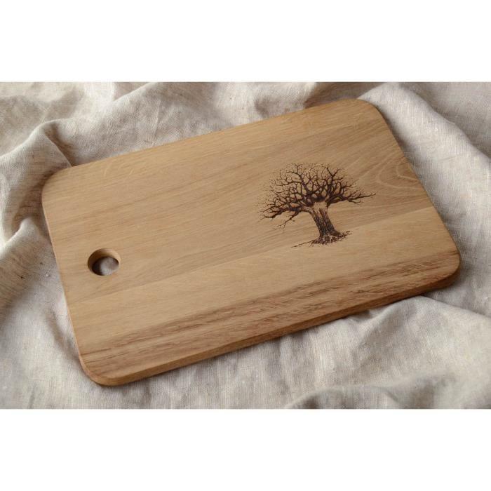 planche d couper en bois d corative faite main achat. Black Bedroom Furniture Sets. Home Design Ideas