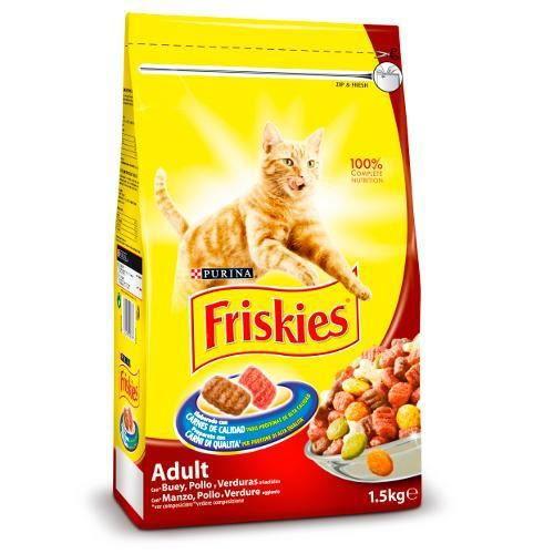 Friskies Chat Adulte Bœuf, Foie Et Légumes