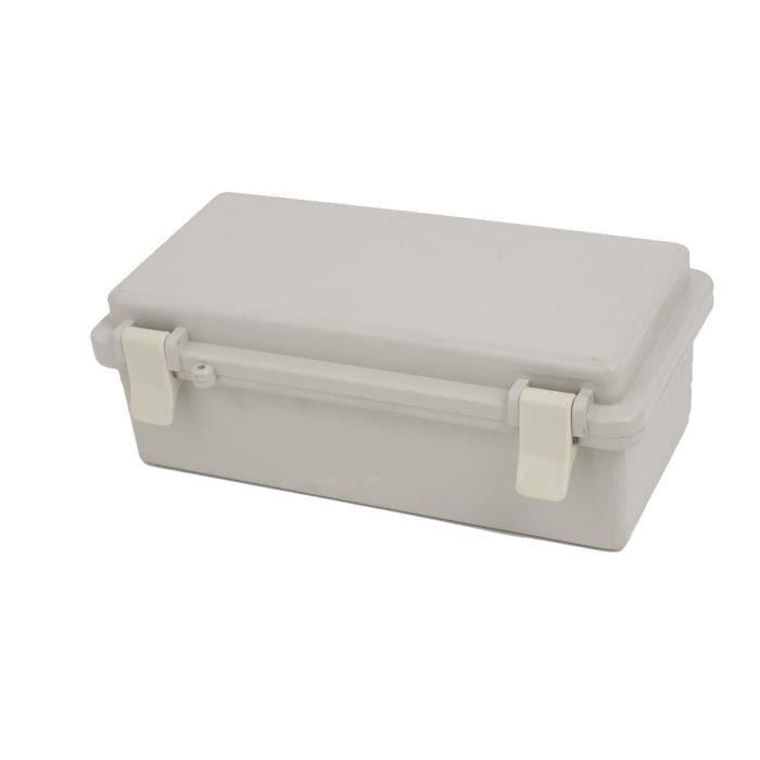 Sourcingmap 200mmx100mmx72mm Housse Plastique Abc Jonction Box Boite