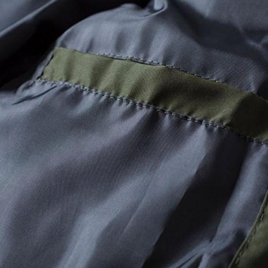 Zippé Verte Toison Veste Rembourré En Solide À Épais Zhp81030374ag Homme Pour Coton Manteau Capuche Hiver Chaud Armée nFSqwBFY