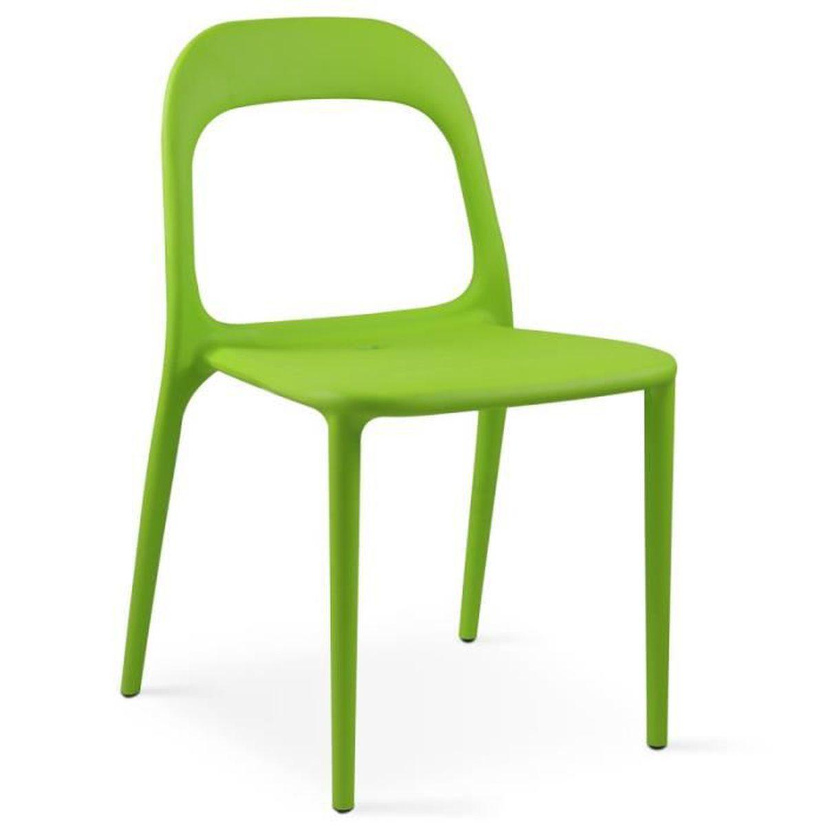En Chaise Plastique Vert Vente Achat Salon De Jardin tBosrCdhQx