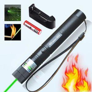 POINTEUR 303 pointeur laser présentateur + 18650 Batterie +