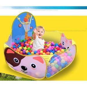 PISCINE À BALLES TOFOCO basket-ball de dessin animé enfants bébé pa