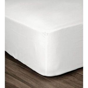 DRAP HOUSSE LOVELY HOME Drap Housse 100% coton 90x190x25 cm bl