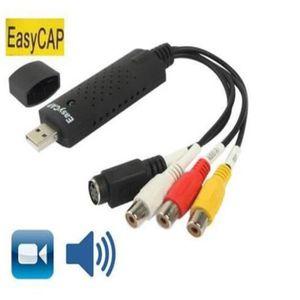 ADAPTATEUR ACQUISITION EasyCap USB 2.0 Stick de capture video+audio
