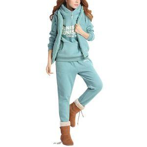 SURVÊTEMENT Minetom Femmes Survêtement Suit Manches Longues Ch 64308d1ff40