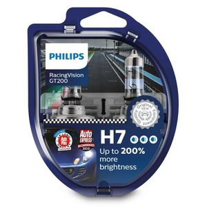 AMPOULE TABLEAU BORD 2 ampoules H7 12V 55W Racing Vision +150 PHILIPS (