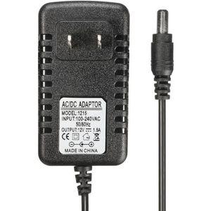 CHARGEUR DE BATTERIE TEMPSA AC Adaptateur 12V 1.5A Batterie Chargeur Pr