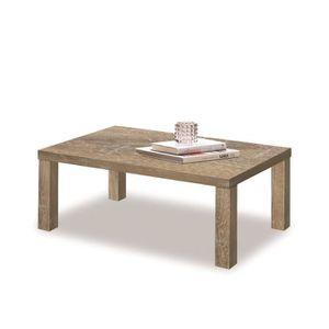 Table basse plateau ardoise - ARDESIA - L 140 x l 68 x H 45 cm ...