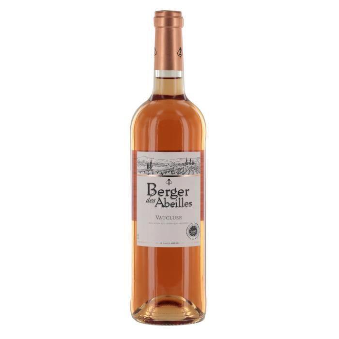 BERGER DES ABEILLES Vaucluse - Vin Rosé - 75 cl