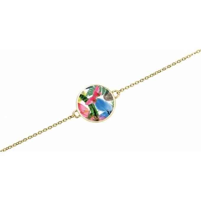 magasin d'usine ba03e 3d94d bracelet christian lacroix caribe x56252d - bracelet doré papillon femme