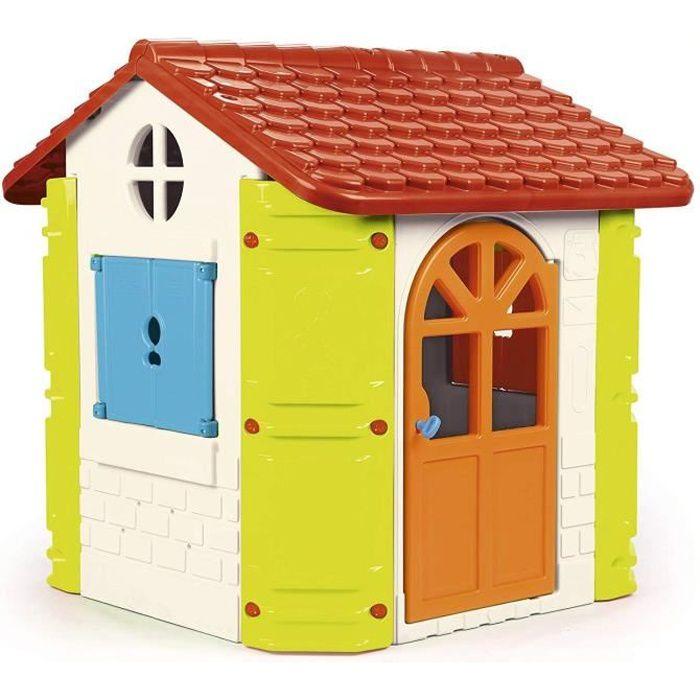 Maison de jardin enfant splendide maison jardin enfant - Maison de jardin avec toboggan saint etienne ...