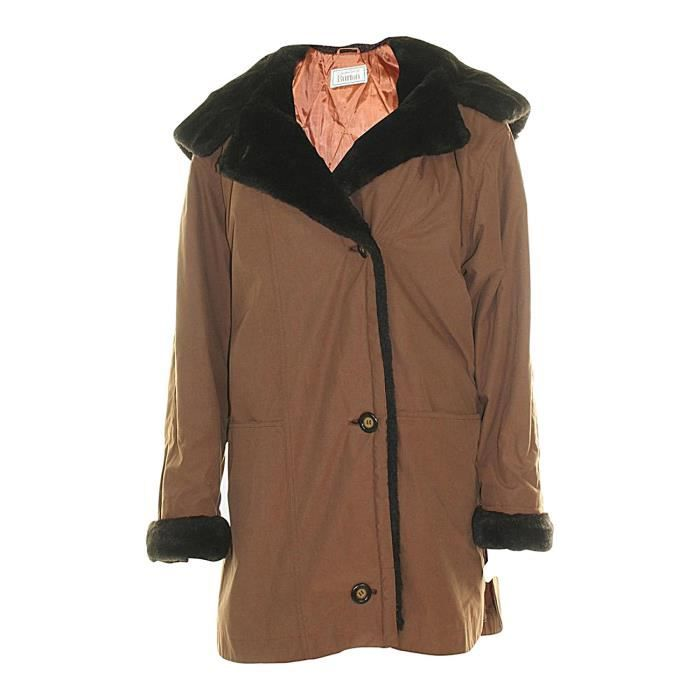 Manteau burton femme gris