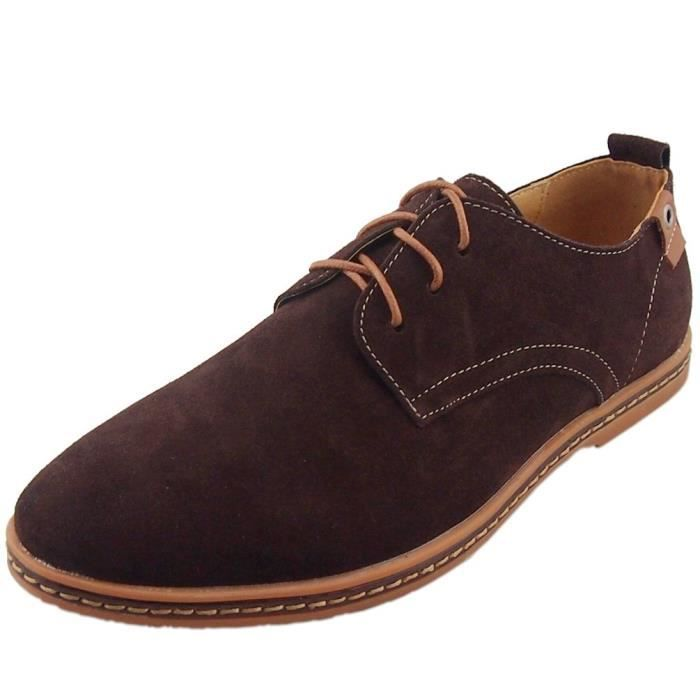 Cuir Oxford chaussures X1EJP Taille-43 b0yvy