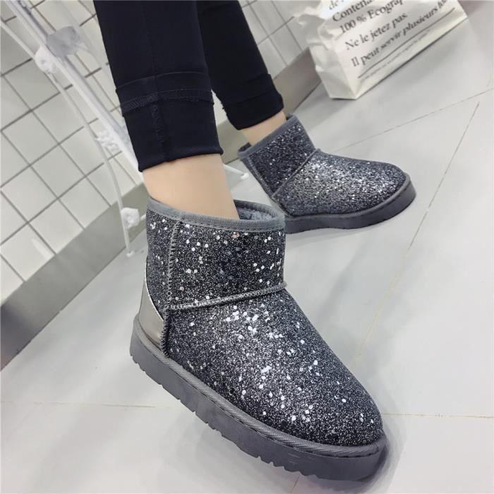 Bottines De Neige Qualité SupéRieure Chaussure Poids LéGer Classique hGMsWKlX