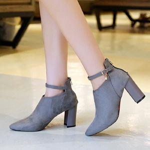 Escarpins femme Nouvellesà talons hauts Chaussures Femmes Pompes Chaussures de mariage LKG-XZ234Gris O3ZnS