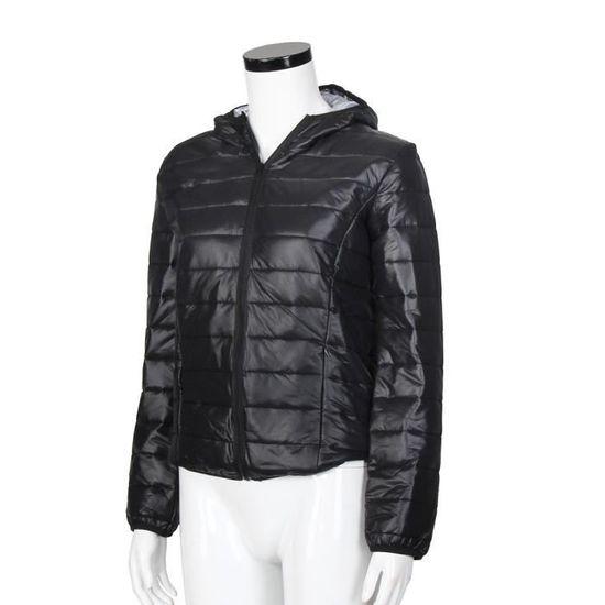 Manteaux Féminine Casual Parka Mode Coton nbsp;noir Manteau Hiver Veste Chaud New Capuche 8dUxU47