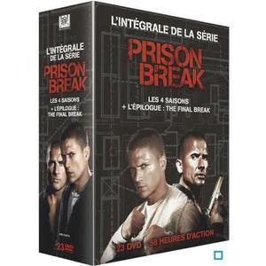 DVD SÉRIE Coffret DVD Prison Break - L'intégrale des 4 saiso