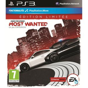 JEU PS3 NEED FOR SPEED MOST WANTED LIMITED EDITION / PS3