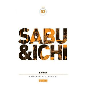 MANGA Sabu & Ichi - Tome 3