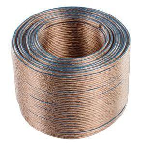 VALUELINE LSP-050RLC Câble haut-parleur en bobine - 2x 1.50 mm? - 100 m - Transparent