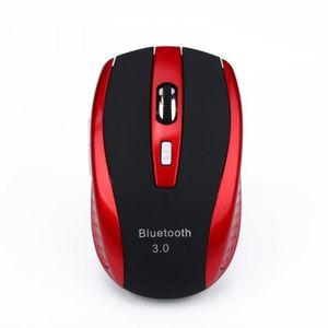 SOURIS Souris haute qualité-rouge noir Portable Sans Fil