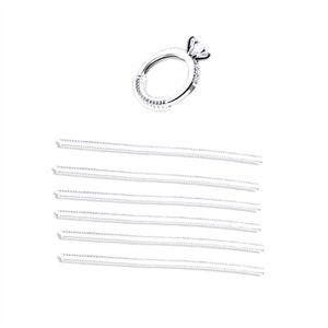 BAGUE - ANNEAU 6 Pcs Ajusteur Taille de l'anneau invisible TPU An