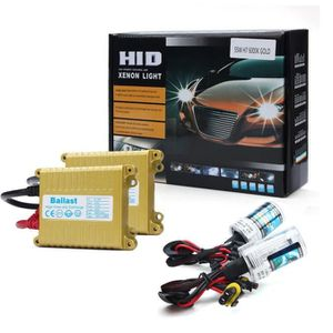 PHARES - OPTIQUES Phares voiture 12V 55W Mince H7 8000 K Xénon HID a
