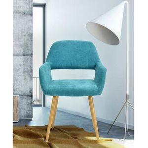 Fauteuil salle a manger achat vente pas cher Chaise fauteuil cuisine