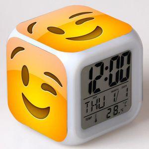 RÉVEIL ENFANT The Emoji Movie les enfants jouet réveil horloge m