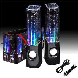 STATION D'ACCUEIL Danse eau musique fontaine Tube Jet LED lumière ha