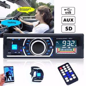 AUTORADIO TEMPSA Bluetooth LCD Voiture Autoradio Stéréo MP3