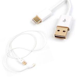 CÂBLE INFORMATIQUE Câble USB type-C DURAGADGET pour Meizu PRO 5, Elep