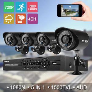 CAMÉRA DE SURVEILLANCE FLOUREON Kit de Caméra de Surveillance Extérieur C