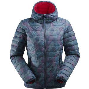 BLOUSON MANTEAU DE SPORT Veste De Ski Eider Twin Peaks Hoodie Bleu Femme a23cafd3ab6