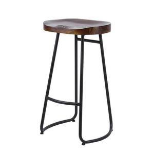 tabouret de bar bois achat vente tabouret de bar bois pas cher cdiscount. Black Bedroom Furniture Sets. Home Design Ideas