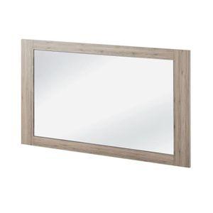 miroir de salle de bain 120 cm achat vente miroir de salle de bain 120 cm pas cher cdiscount. Black Bedroom Furniture Sets. Home Design Ideas